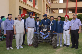 All Terain Vehicle Designed & Developed by Mechanical Engineering students