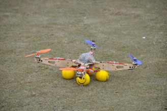 Quad Copter Designed by Electronics and Communication Engineering Students.