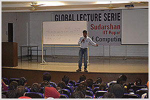 Guest Lecture by Dr.Sudarshan Iyengar,Assistant Professor, IIT Ropar