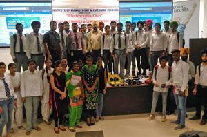 "Electrocrates Club Organized Workshop on ""ROBOTICS"
