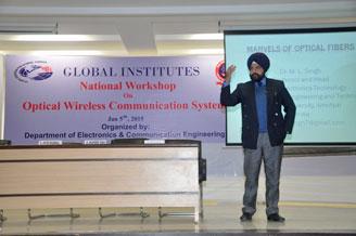 National Workshop On Optical Wireless Communication
