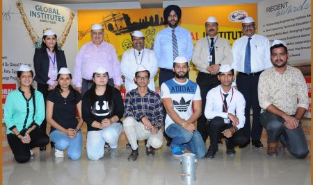 Mumbai Dabbawalas in Global Group of Institutes