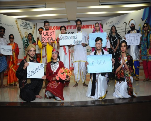 World tourism day celebration- Global Institutes Amritsar
